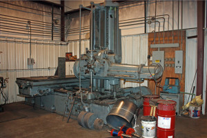 Our boring mill.