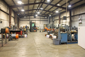 We take great pride in our pump repair and machine shop.