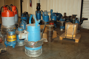 Some of our pumps.